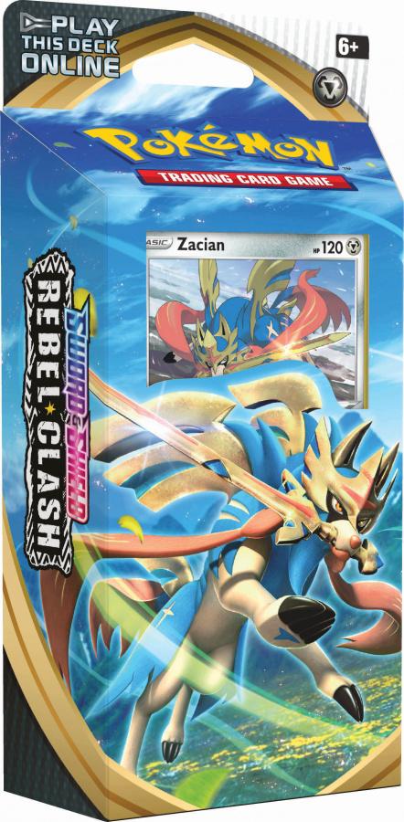 Pokemon TCG: Rebel Clash Theme deck Zacian