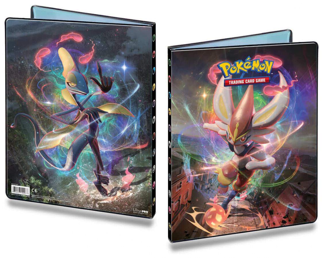 Pokemon TCG: Sword & Shield Rebel Clash - Album A4 na 252 karty