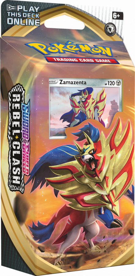 Pokemon TCG: Rebel Clash Theme deck Zamazenta