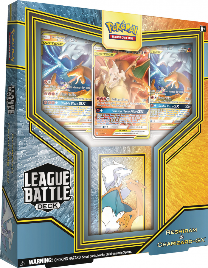 Pokemon TCG: Sword & Shield - Rebel Clash League Battle Deck - Reshiram & Charizard-GX