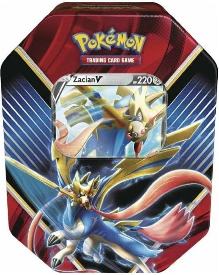 Pokemon TCG: Sword & Shield - Rebel Clash Legends of Galar Tin - Zacian V