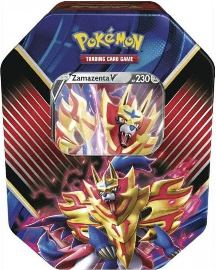 Pokemon TCG: Sword & Shield - Rebel Clash Legends of Galar Tin - Zamazenta V