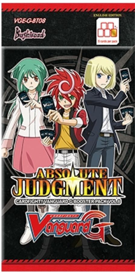 Cardfight Vanguard G: Absolute Judgement booster