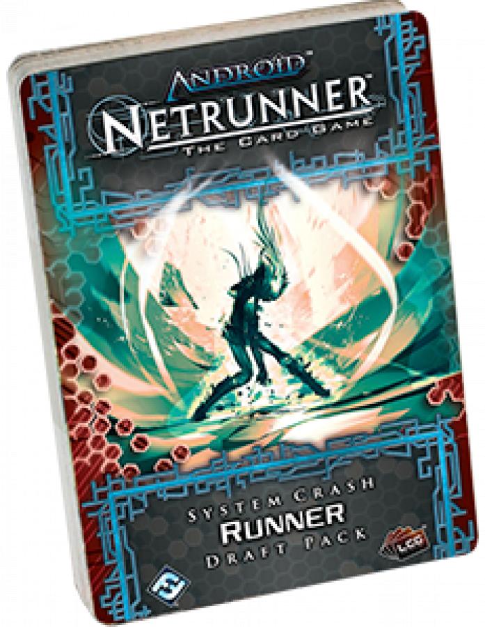 Android: Netrunner LCG: System Crash - Runner Draft Pack
