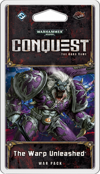 Warhammer 40,000 Conquest LCG: The Warp Unleashed