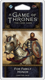 A Game of Thrones: The Card Game (2ed) - For Family Honor