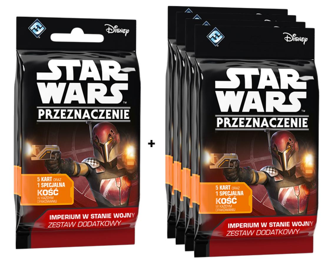 Star Wars: Przeznaczenie - Imperium w stanie wojny - Promocja 1+4 gratis