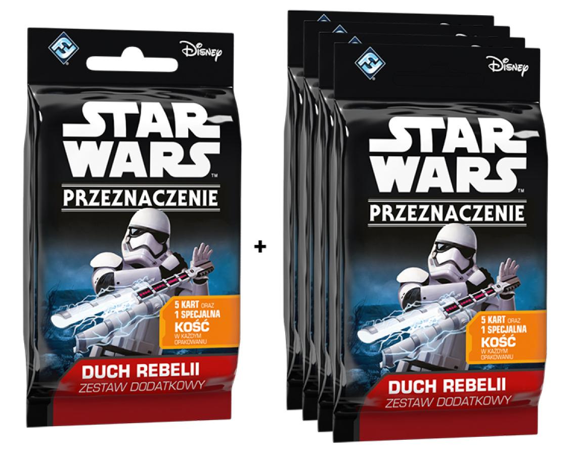 Star Wars: Przeznaczenie - Duch Rebelii - Promocja 1+4 gratis