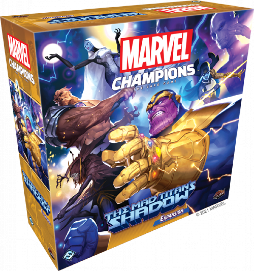 Marvel Champions: The Mad Titan's Shadow Expansion