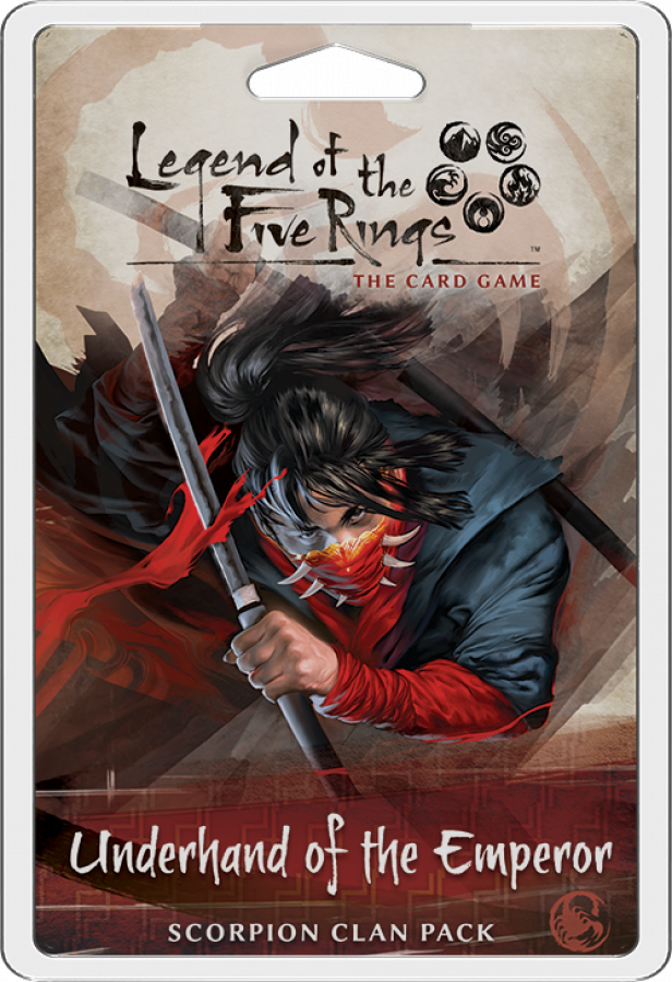 Legend of the Five Rings: Scorpion Clan Pack - Underhand of the Emperor