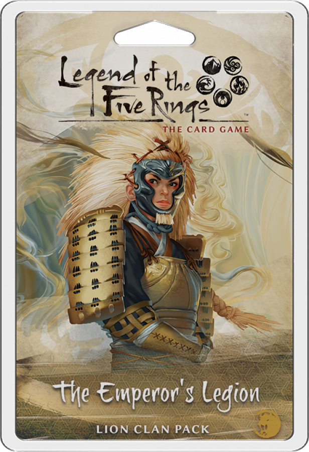 Legend of the Five Rings: Lion Clan Pack - The Emperor's Legion