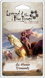 Legend of the Five Rings LCG - As Honor Demands