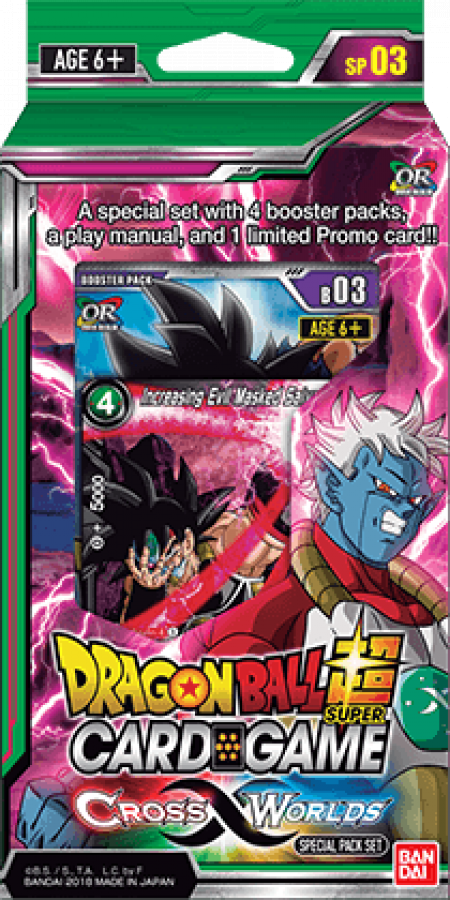 Dragon Ball Super Card Game: Cross Worlds - Special Pack Set
