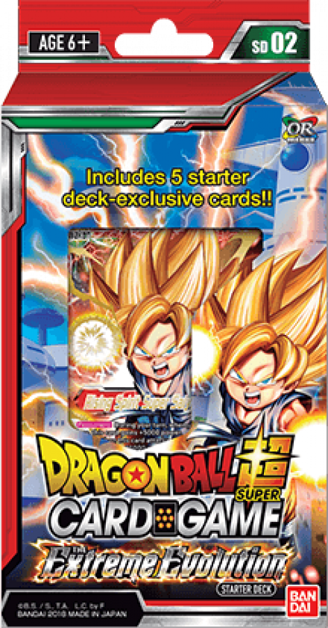 Dragon Ball Super Card Game: The Extreme Evolution - Starter Deck