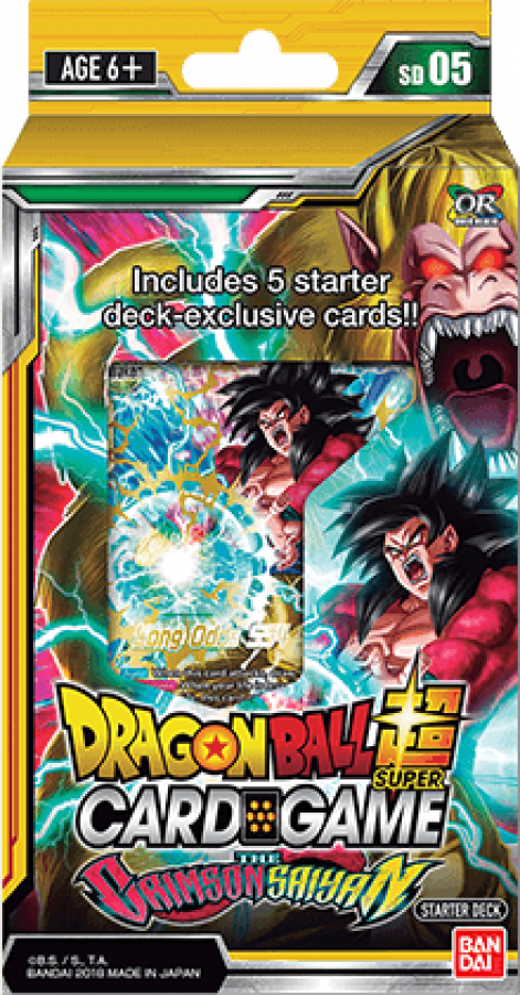 Dragon Ball Super Card Game: The Crimson Saiyan - Starter Deck