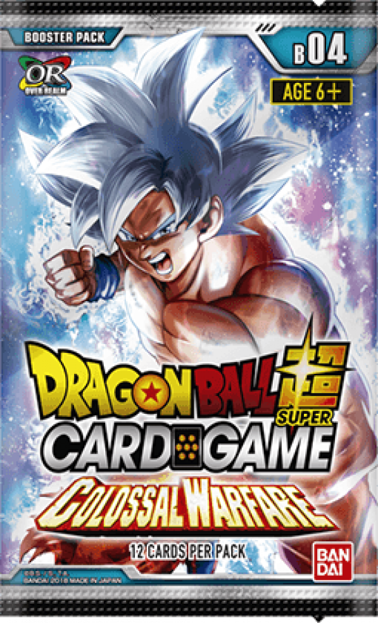 Dragon Ball Super Card Game: Colossal Warfare - Booster Pack