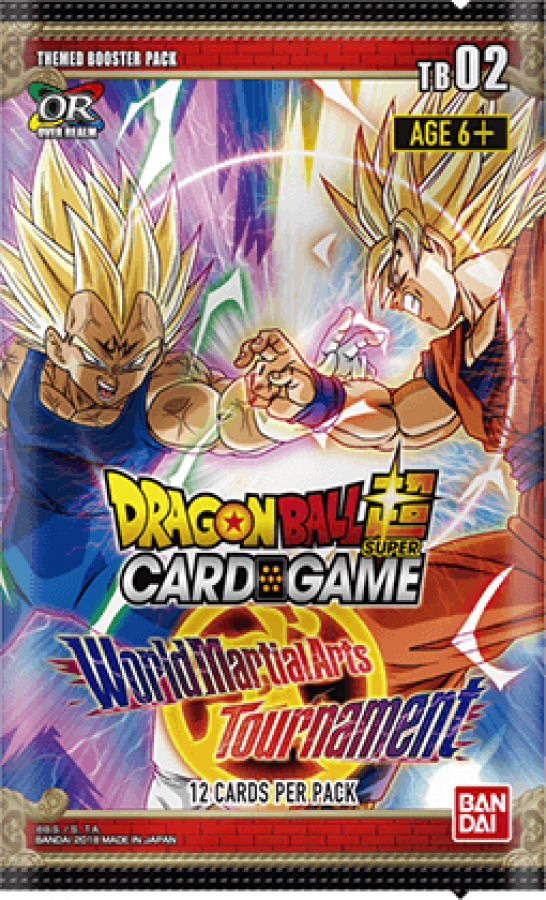 Dragon Ball Super Card Game: World Martial Arts Tournament - Booster Pack