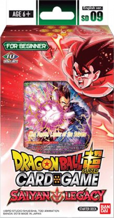 Dragon Ball Super Card Game: Saiyan Legacy - Starter Deck