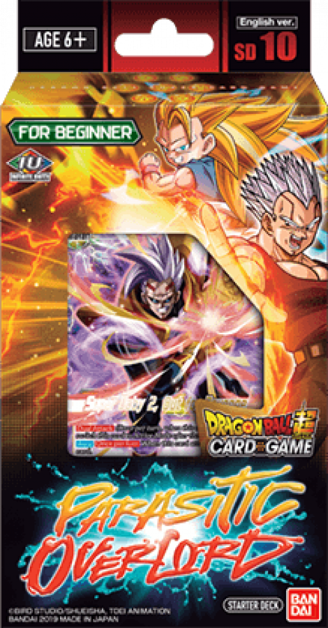 Dragon Ball Super Card Game: Parasitic Overlord - Starter Deck