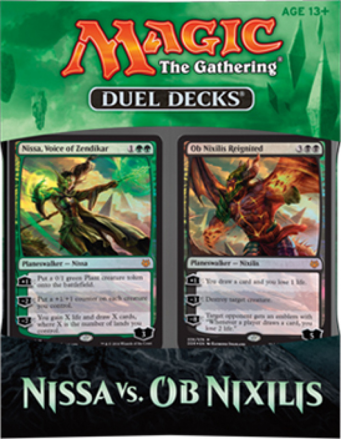 Magic the Gathering: Duel Decks - Nissa vs. Ob Nixilis