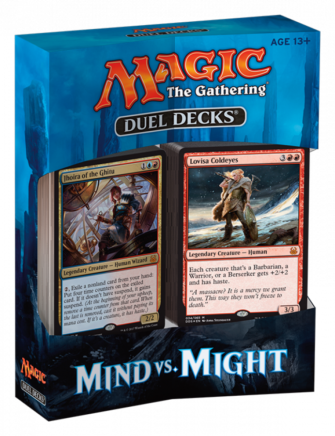 Magic the Gathering: Duel Decks - Mind vs. Might
