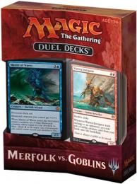 Magic The Gathering: Merfolk vs. Goblins - Duel Decks