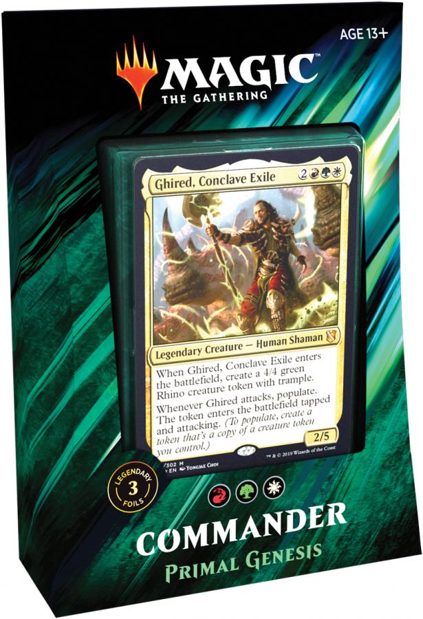 Magic The Gathering: Commander 2019 - Primal Genesis