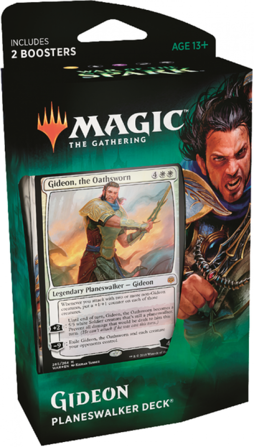 Magic The Gathering: War of the Spark - Planeswalker Deck - Gideon