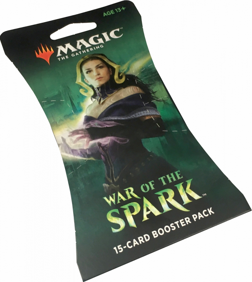 Magic The Gathering: War of the Spark - Sleeve Booster