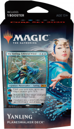Magic The Gathering: Core Set 2020 - Planeswalker Deck - Mu Yanling, Celestial Wind