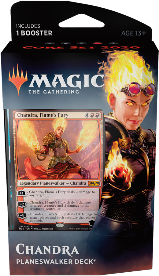 Magic The Gathering: Core Set 2020 - Planeswalker Deck - Chandra, Flame's Fury
