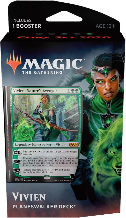 Magic The Gathering: Core Set 2020 - Planeswalker Deck - Vivien, Nature's Avenger