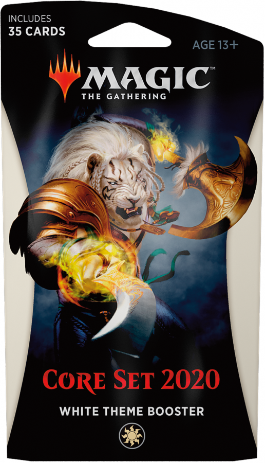 Magic The Gathering:  Core Set 2020 - White Theme Booster