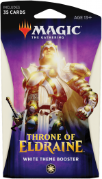 Magic The Gathering: Throne of Eldraine - White Theme Booster