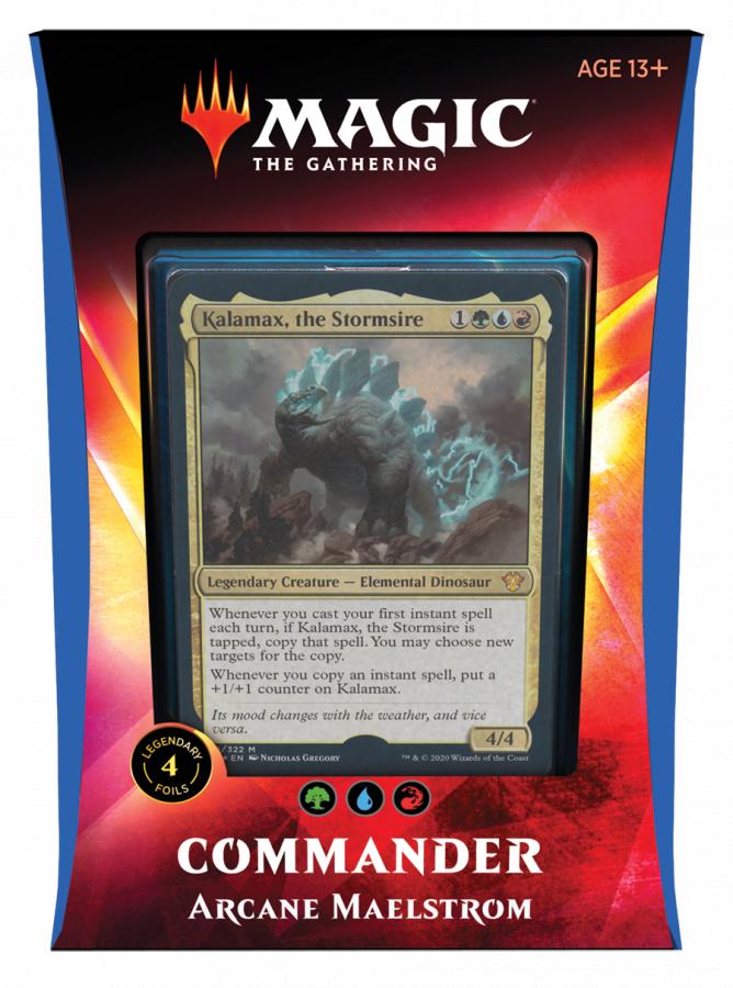 Magic The Gathering: Ikoria - Lair of Behemoths - Commander - Arcane Maelstrom