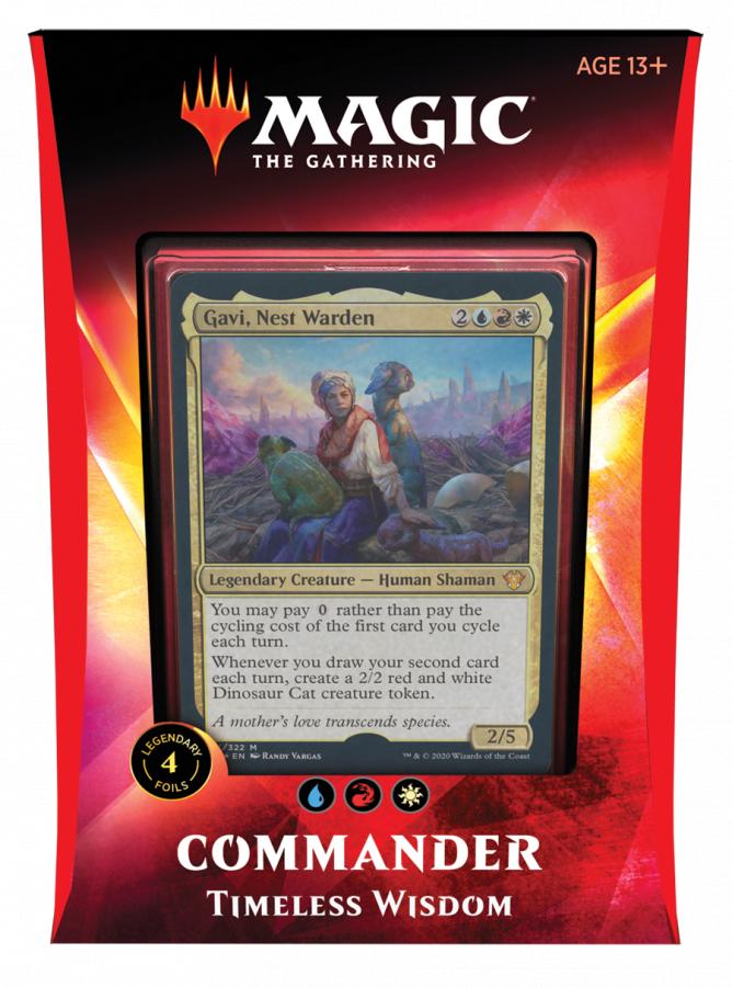 Magic The Gathering: Ikoria - Lair of Behemoths - Commander - Timeless Wisdom