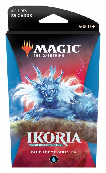 Magic The Gathering: Ikoria - Lair of Behemoths - Blue Theme Booster