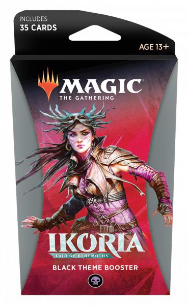 Magic The Gathering: Ikoria - Lair of Behemoths - Black Theme Booster
