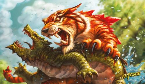 Mata KeyForge: Mighty Tiger