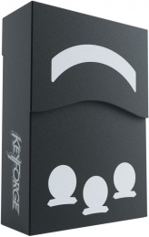 Gamegenic: KeyForge - Aries Black Deck Box