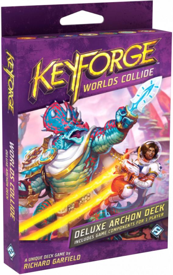 KeyForge (edycja angielska):   Worlds Collide - Deluxe Archon Deck