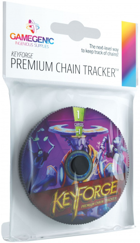 Gamegenic: KeyForge - Premium Logos Chain Tracker