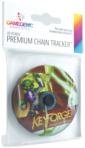 Gamegenic: KeyForge - Premium Mars Chain Tracker