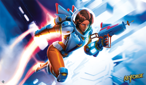 Mata KeyForge: Tactical Officer Moon