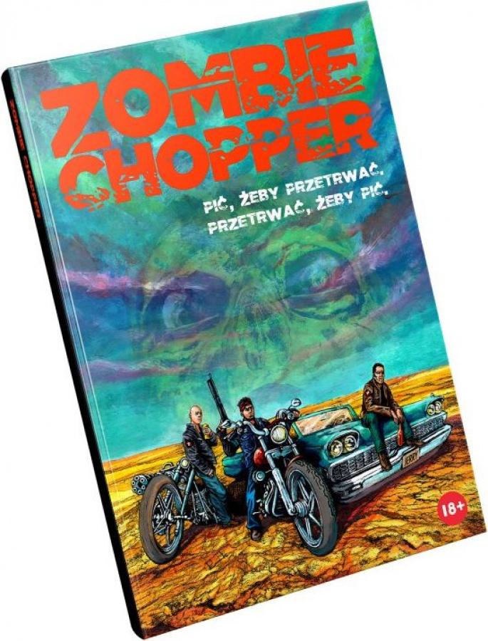 Zombie Chopper (twarda oprawa)