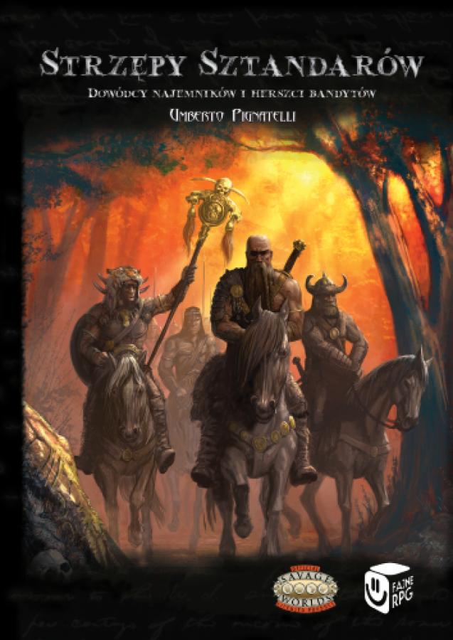 Savage Worlds: Bestie i Barbarzyńcy - Strzępy Sztandarów