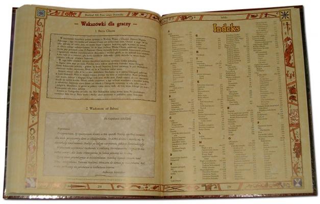 Indeks na końcu podręcznika.