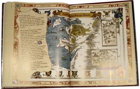 Mapa Starego Świata.