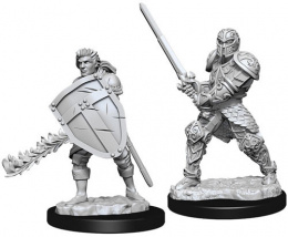 Dungeons & Dragons: Nolzur's Marvelous Miniatures - Male Human Fighter