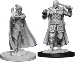 Dungeons & Dragons: Nolzur's Marvelous Miniatures - Human Ranger & Moon Elf Sorcerer